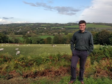 Jack Gilmore, Parliamentary Candidate is passionate about protecting West Lancashire's Greenbelt